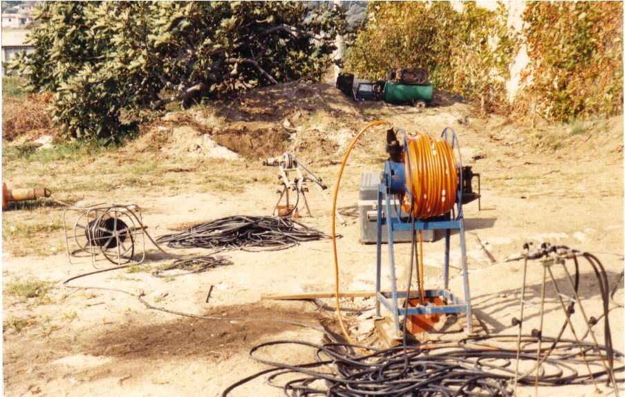 Bore hole televiewer survey in Tunisia
